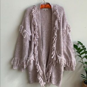 🦋 Rebecca Minkoff Wool & Mohair Shag Sweater